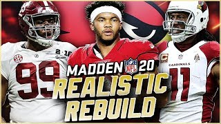 Rebuilding the Arizona Cardinals | Kyler Murray is in this video! Madden 20 Franchise