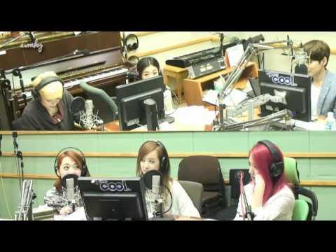 130729 f(x) with fans & Miss A Min 2am Jo Kwon Super Junior Ryeowook KTR