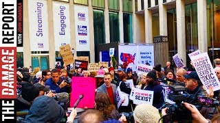 Protest Erupts At Fox News