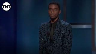 Chadwick Boseman Tribute to Denzel Washington | AFI 2019 | TNT