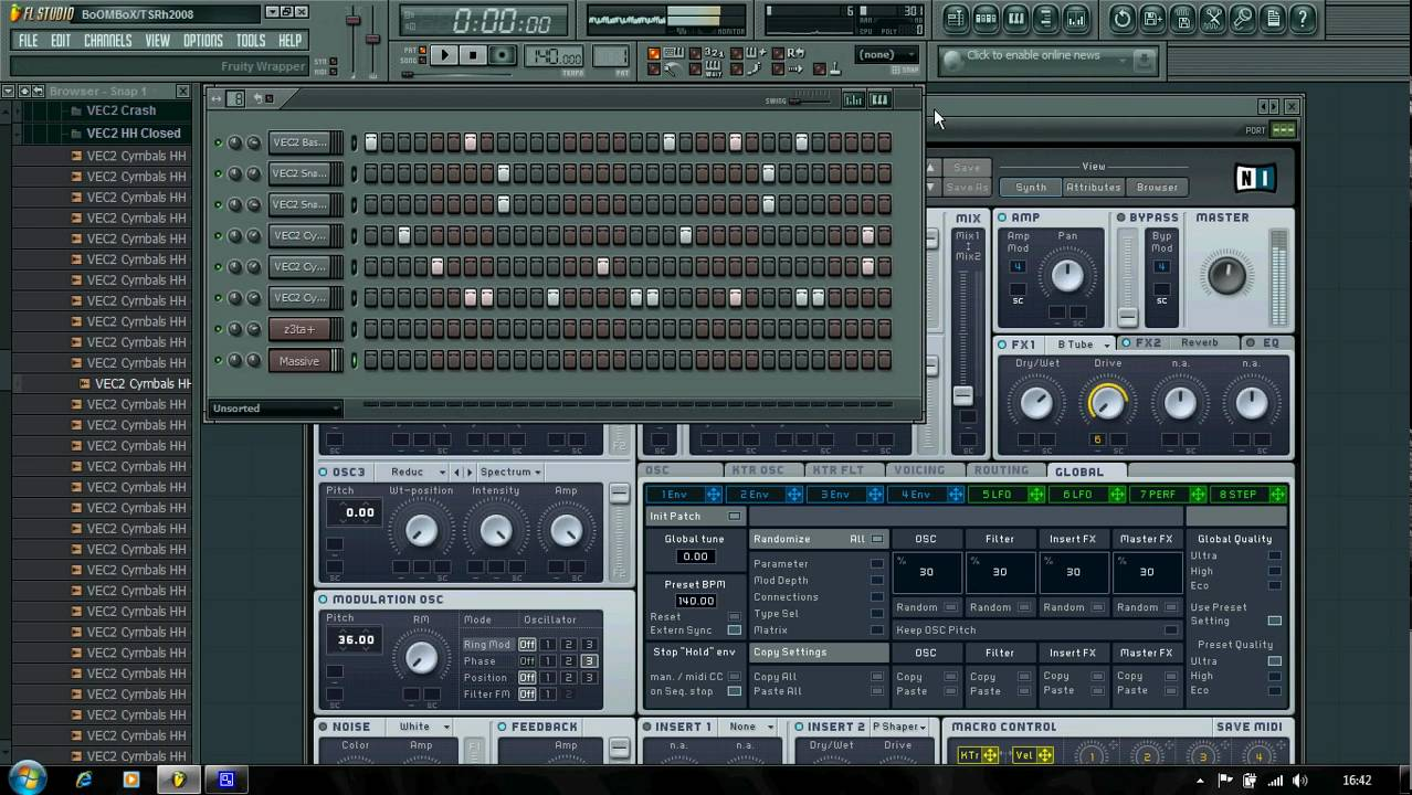 How to make a dubstep beat.