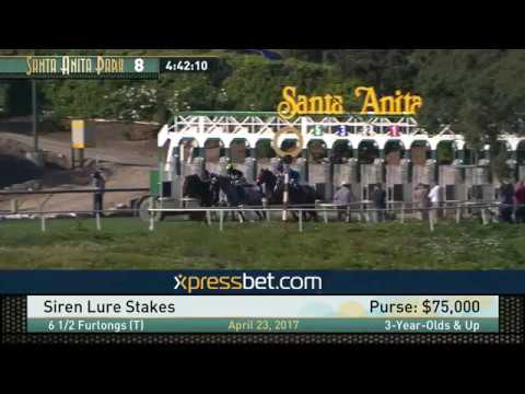Siren Lure Stakes - Sunday, April 23, 2017