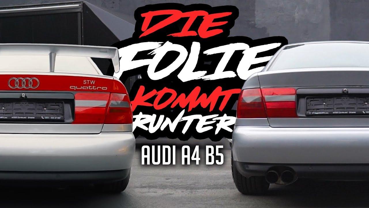 Jp Performance Die Folie Kommt Runter Audi A4b5
