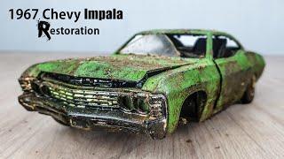 1967 Vintage Chevy Impala Model Restoration