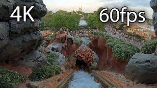 Splash Mountain front seat on-ride 4K POV @60fps Walt Disney World's Magic Kingdom