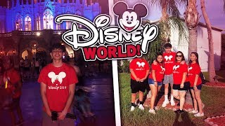 DISNEY WORLD VLOGS 1: MAGIC KINGDOM 2019 | Family Vlog