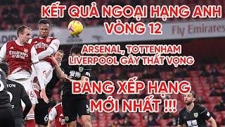 Kết quả Ngoại hạng Anh | Arsenal khóc hận | Tottenham, Liverpool  hòa | Bảng xếp hạng Premier League