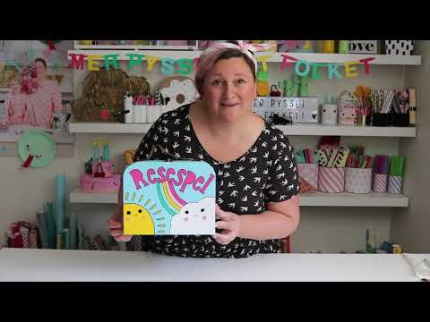 DIY sommarpyssel - Kreativa Karin pysslar ihop en spelväska med personliga spel!