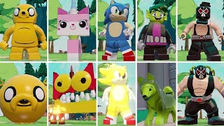 All Character Transformations in LEGO Dimensions