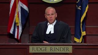 Woman Beater Storms Out of Court | Judge Rinder