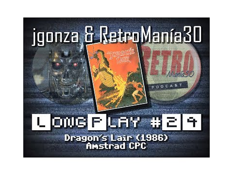 Dragon's Lair - Amstrad CPC Longplay