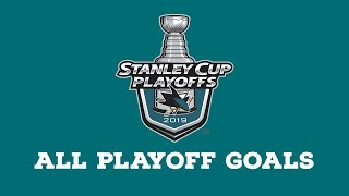 San Jose Sharks | Every Goal from 2019 Playoffs