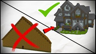 How To Go From Building NOOB To PRO in Minecraft