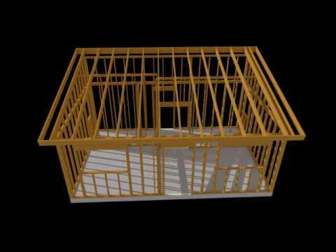 Casas prefabricadas de madera edu curso youtube - Madera para casa ...