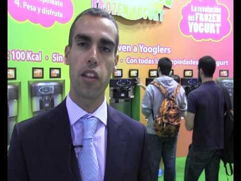 Éxito de la Yogurtería Yooglers en el Salón de la Franquicia 2012