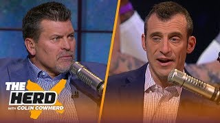 80% chance Tom Brady leaves Patriots, talks Dak contract & Rivers — Mark Schlereth | NFL | THE HERD
