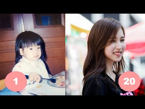 Mina TWICE Childhood | From 1 To 20 Years Old