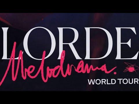 Lorde - Melodrama World Tour 2018