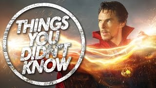 7 Things You (Probably) Didn't Know About Doctor Strange!