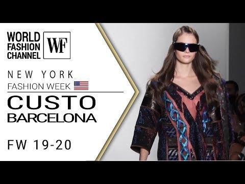 Custo Barcelona Fall-winter 19-20 New York Fashion week