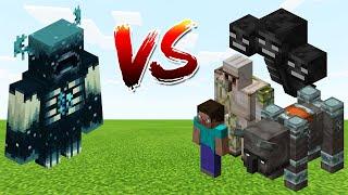 Warden vs Minecraft
