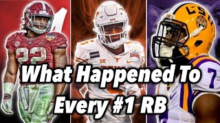What Happened To Every #1 Ranked RB? (2011-2020)