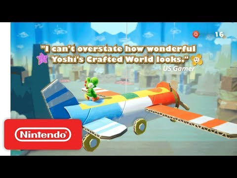 Yoshi's Crafted World - Accolades Trailer - Nintendo Switch