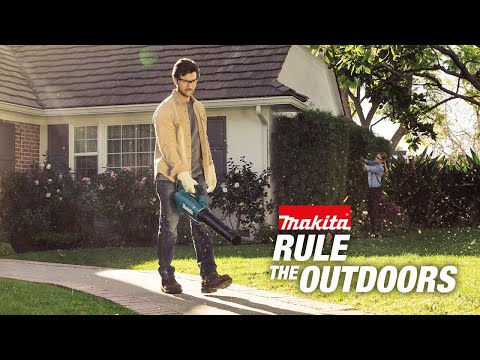 Rule the Outdoors with Makita LXT Cordless Outdoor Power Equipment