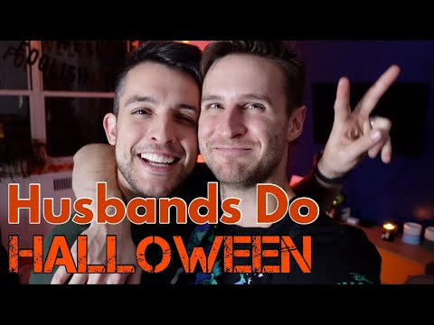Decorating for Halloween! | Chris & Clay