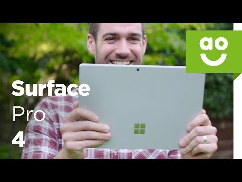 Microsoft Surface Pro 4 - The Tablet To Replace Your Laptop | ao.com