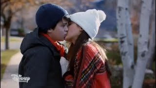 Andi Mack -  Hey, Who Wants Pizza? - Cyrus and Iris Kiss - CLIP
