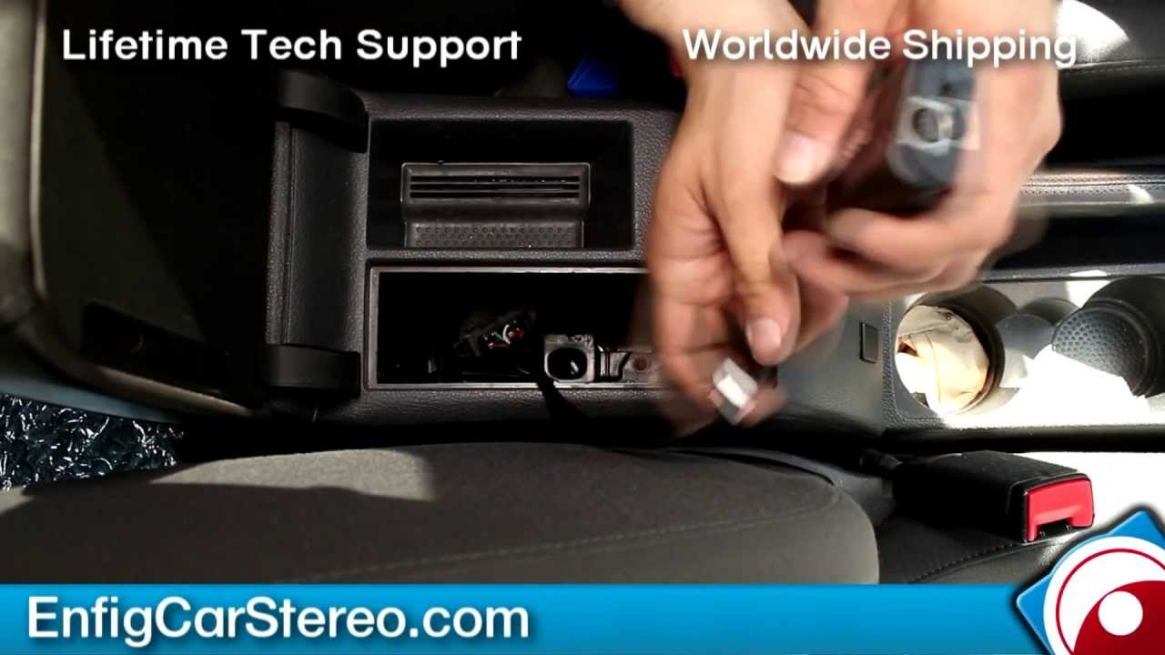 Replace Volkswagen Ipod Dock For Ipod Iphone Aux Adapter