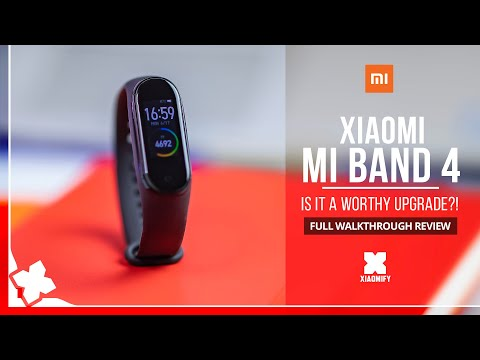 video 2020 Xiaomi Mi Band 4 Newest Music Smart Bracelet