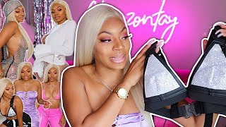 500$ ON PRETTYLITTLETHING x SAWEETIE COLLECTION! TRY ON HAUL