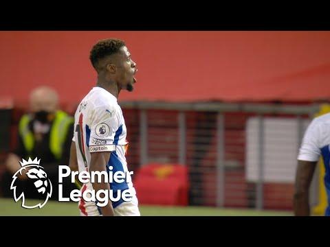 Wilfried Zaha bags brace, seals Crystal Palace's win v. Man United | Premier League | NBC Sports