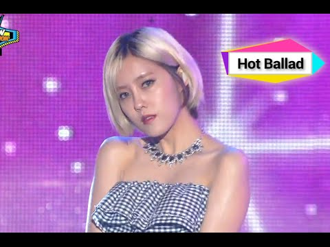 Hyomin - Fake it (feat. Sung Min of SPEED), 효민 - 척했어, Show Champion 20140816