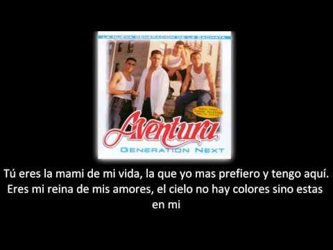 Aventura - La novelita (lyric - letra)