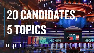 Democratic Debate Preview: Candidates And The Issues | NPR