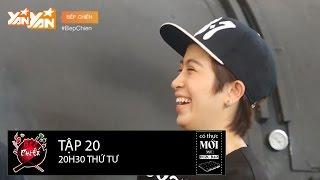 Bếp Chiến || Tập 20: Gil Lê và Soobin Hoàng Sơn trổ tài ngậm cà chua hát đón xuân II Full