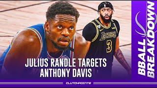 Julius Randle targets Anthony Davis in 1 on 1 battle, a breakdown