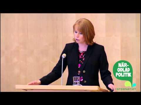 """Annie Lööfs anförande från debatten """"service i hela landet"""""""