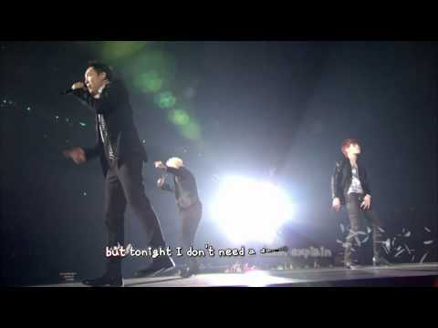 JYJ - Get Out (2013 Concert in Tokyo Dome) [eng + rom + hangul + karaoke sub]
