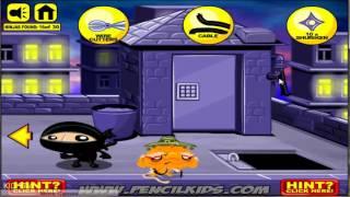 Chú khỉ buồn: Tìm ninja 4 - Monkey GO Happy Ninja Hunt 4