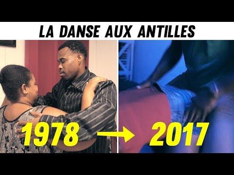 L'évolution de la danse aux Antilles