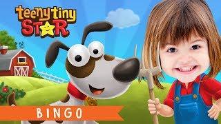 Bingo Dog Song |  Nursery Rhymes With Lyrics | Cartoon Animation for Children | TeenyTinyStar