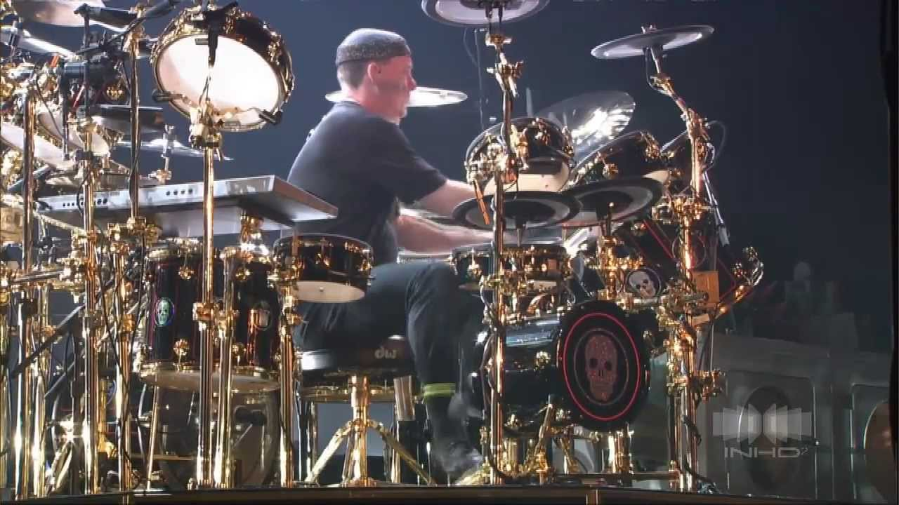 Neil Peart Drum Solo Rush Live In Frankfurt Youtube