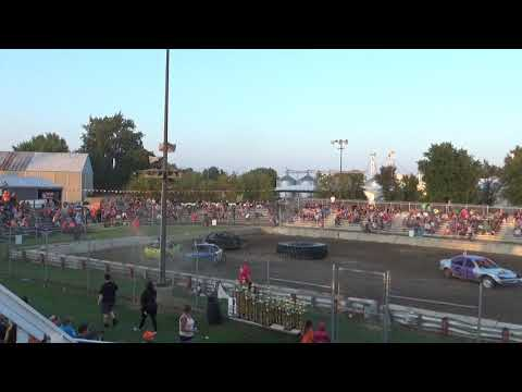 USA Figure Eight Championship 2018(FWD cars) Heat 3 (Munger,Michigan)
