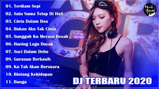 DJ SLOW REMIX TERBAIK 2020 TIK TOK - TERDIAM SEPI - CINTA DALAM DOA - TERBARU 2020 FULL BASS