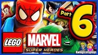 LEGO Marvel Super Heroes Walkthrough Part 6 Hydra Red Head Detention