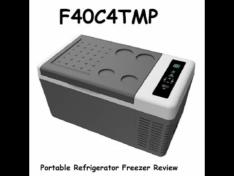 F40C4TMP Portable Refrigerator Freezer Review